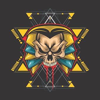 Egyptische schedel