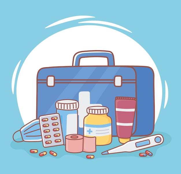 Ehbo-doos voor medicijnen