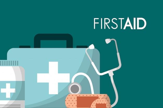 Ehbo-kit medische gezondheid