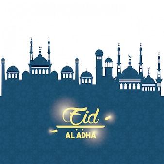 Eid al adha feest van het offer