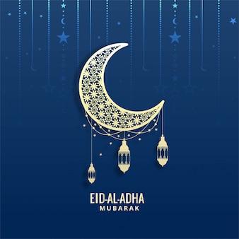 Eid-al-adha mubarak-wenskaart