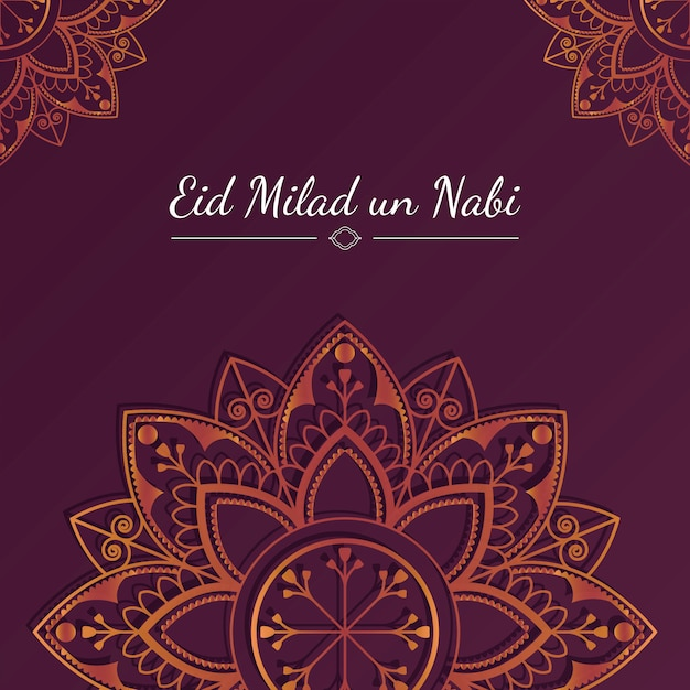 Eid-kaart illustratie
