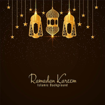 Eid mubarak islamitische festival wenskaart