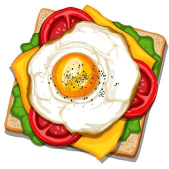 Eieren sandwich