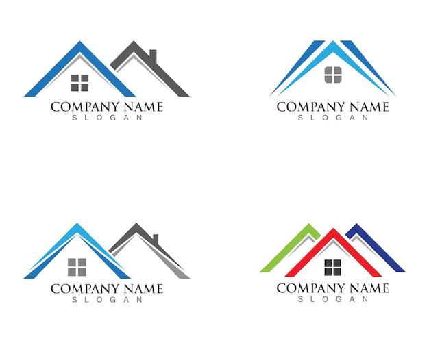 Eigendom en bouw logo's