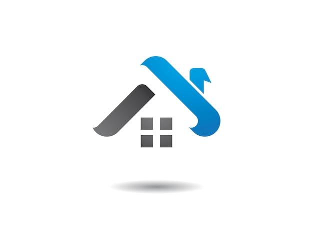 Eigendom en constructie logo ontwerp voor het bedrijfsleven