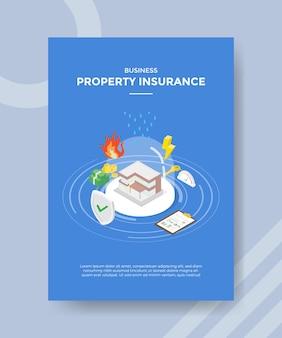 Eigendom verzekering concept