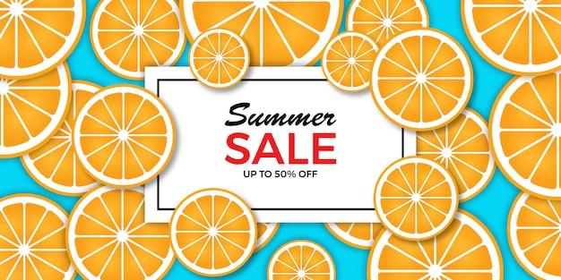 Eind van de zomer verkoop achtergrond