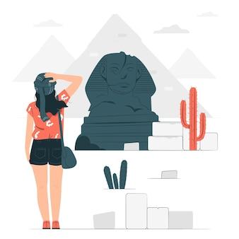 El cairo concept illustratie