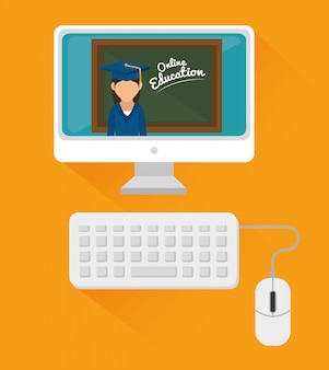 Elearning en technologie-educatie