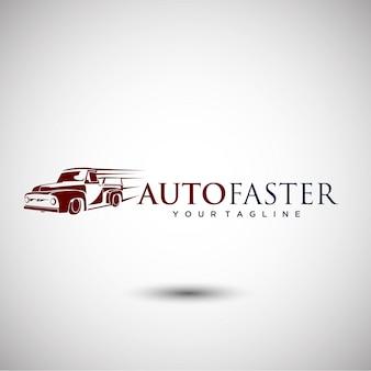 Elegant auto-logo ontwerp