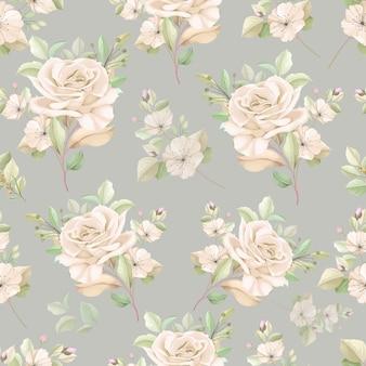 Elegant bloemen naadloos patroon