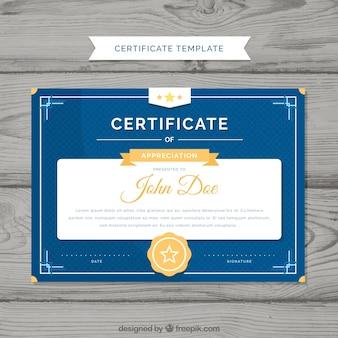 Elegant diplomamalplaatje