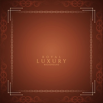 Elegant eenvoudig luxe frame