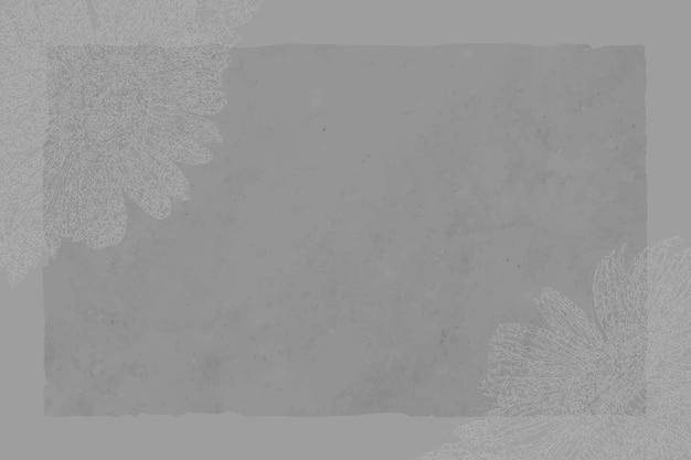 Elegant frame op bloemenachtergrond