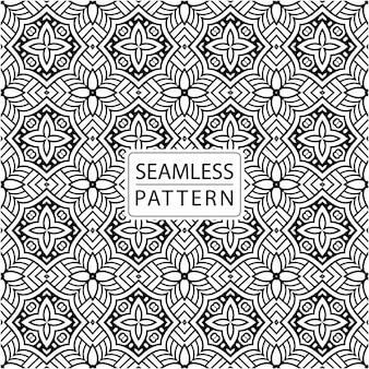 Elegant geometrisch vormpatroon