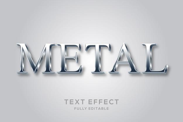 Elegant luxe metallic tekststijleffect