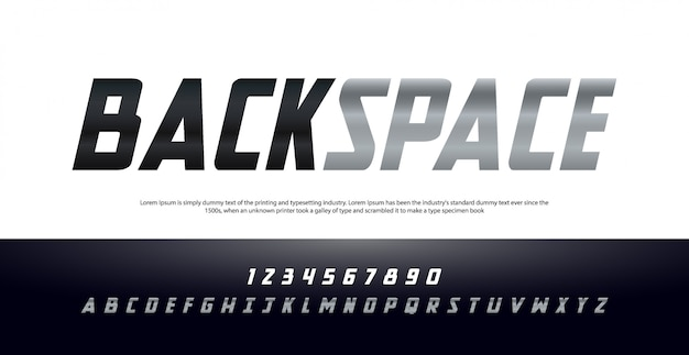 Elegant modern cursief alfabet lettertype en nummer. typografie stedelijke stijl lettertypen