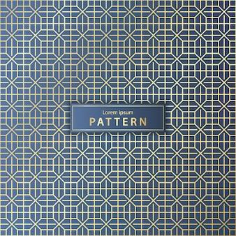 Elegant naadloos geometrisch patroon