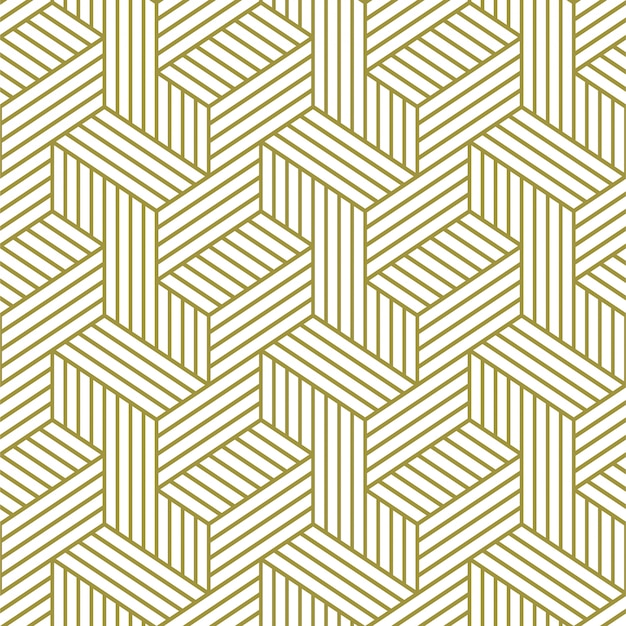 Elegant naadloos patroon. geometrisch patroon met lijnen.