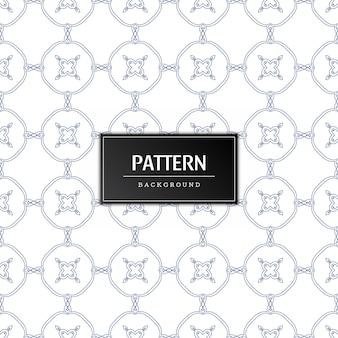 Elegant naadloos patroonontwerp als achtergrond