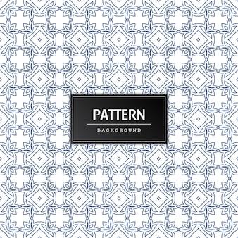 Elegant naadloos patroonontwerp
