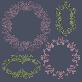 Elegant sier frame collectie