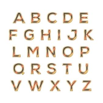 Elegant techno font-