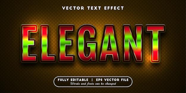 Elegant teksteffect, bewerkbare tekststijl