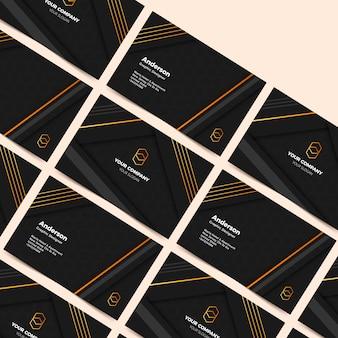 Elegant visitekaartje concept