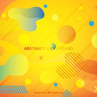 Elegante abstracte achtergrond met geometrisch ontwerp
