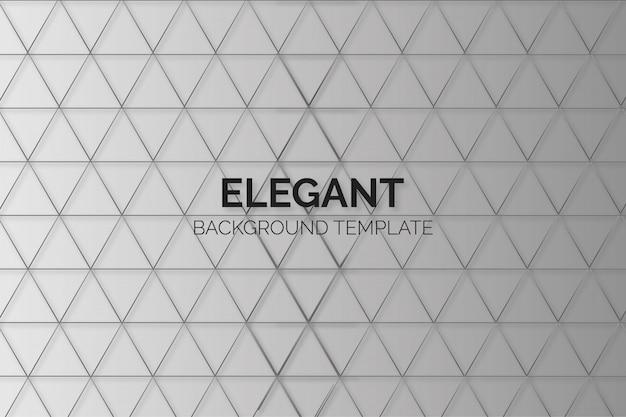 Elegante achtergrond met 3d-patroon