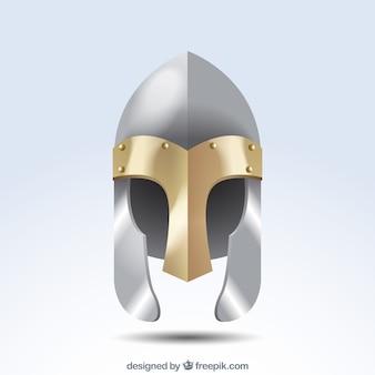 Elegante armor helm achtergrond