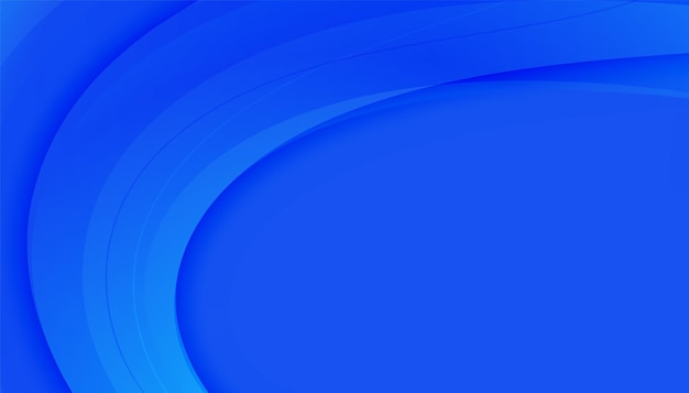 Elegante blauwe achtergrond voor zakelijke presentatie