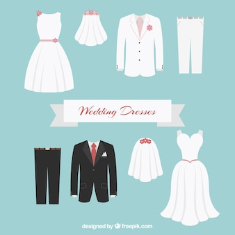 Elegante bruidsjurken