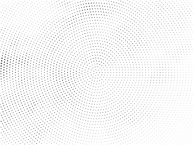Elegante circulaire halftone ontwerp moderne achtergrond