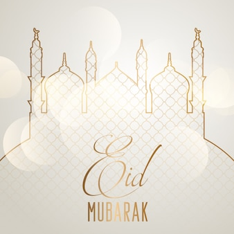 Elegante eid mubarak