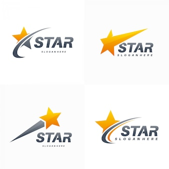 Elegante fast star-logoset