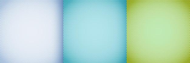 Elegante halftone achtergrond in witblauwe en groene tinten