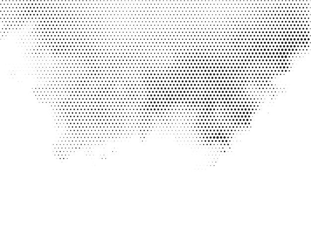 Elegante halftone ontwerp witte achtergrond vector