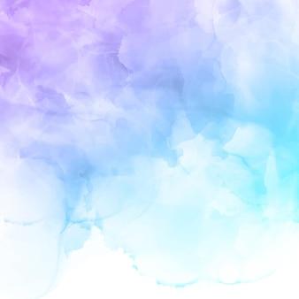 Elegante handgeschilderde aquarel abstracte achtergrond