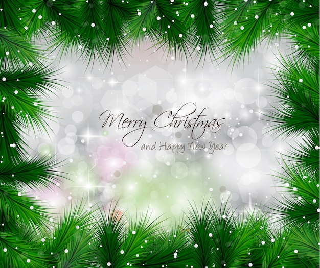 Elegante klassieke kerst met kerstballen