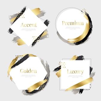 Elegante lijnen frames collectie