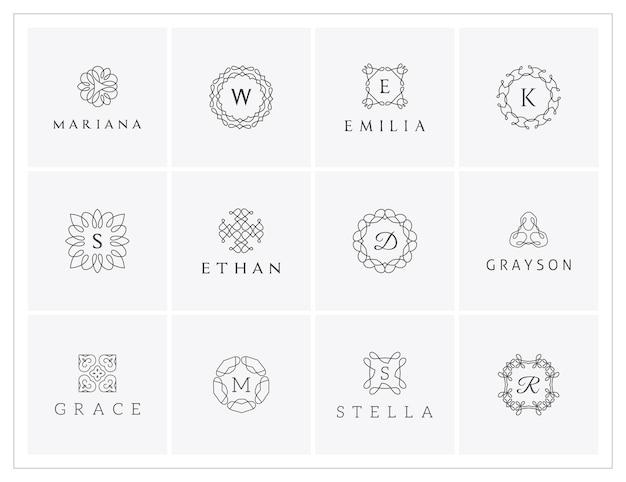 Elegante logo's instellen