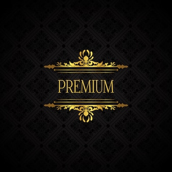 Elegante luxe merkachtergrond