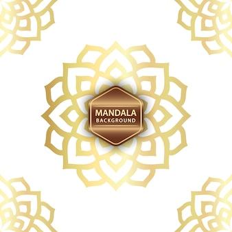 Elegante mandalaachtergrond