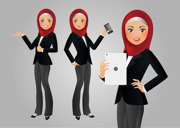 Elegante mensen-zakenvrouw