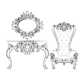 Elegante meubels verzamelen
