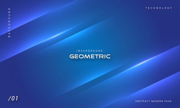 Elegante minimalistische blauwe achtergrond