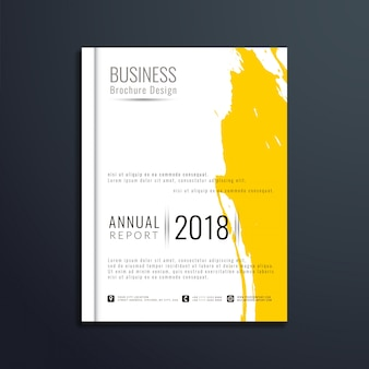 Elegante moderne business brochure sjabloon
